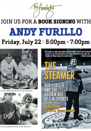 Book signing with Andy Furillo